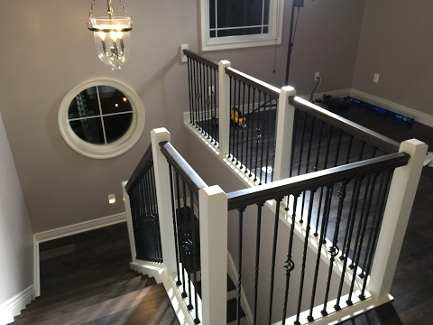 Remodeling my stairs and railings