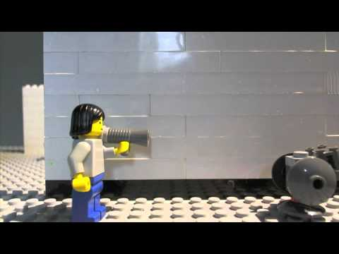 New laser gun test(lego)