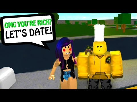 MY GIRLFRIEND IS A GOLD DIGGER! (Roblox Bloxburg)