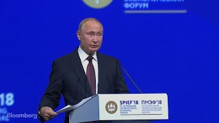 Putin Sees Risk of Unprecedented Global Systemic Crisis
