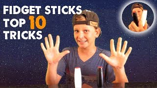 Download Top 10 Tricks with Fidget Sticks / Rollers and Review - Tutorial how to use Japanese Sticks Video