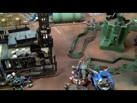 Skaredcast - Warhammer 40k Battle Report - Alpha Legion (CSM) vs Astra Militarum - 1500pts