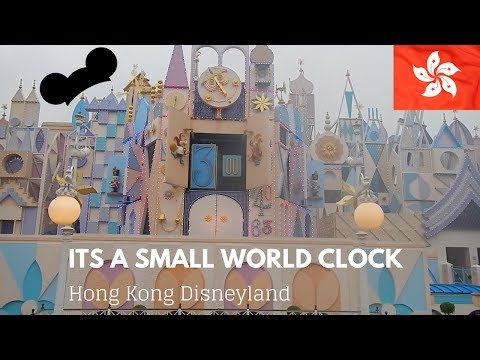 It's a small world clock   Hong Kong Disneyland
