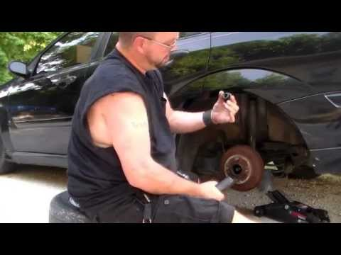 How to change wheel bearings on a 2000 ford focus