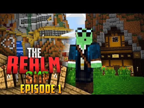 Minecraft PE Realms SMP - Ep.1 : Exploring the Server!