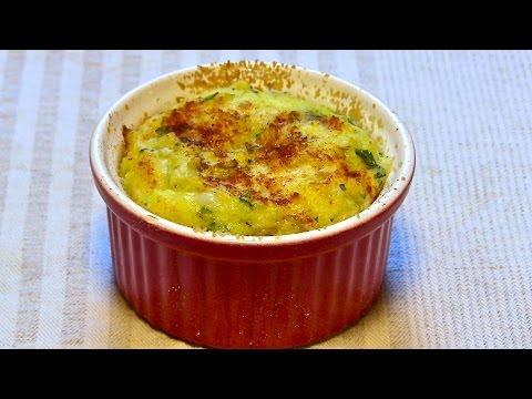 Potato Casserole Recipe-Potato Souffle-Mashed Potato Souffle-Kitchen Basics