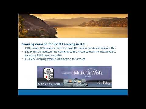 Growing BC's Tourism Sector with RV Parks and Campgrounds