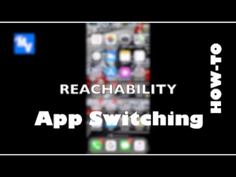 iPhone 10 How To use Reachability and Learn to Switch Apps a second way