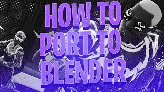 BLENDER TUTORIAL) : Tips & General Questions (How To Make 3D