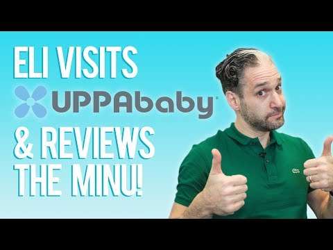 Eli Visits UPPAbaby & Reviews the UPPAbaby Minu Stroller 2018
