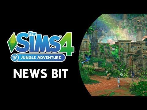 The Sims 4 News Bit: Jungle Adventure Announcement! (NEW INFO)