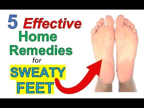 5 Powerful Home REMEDIES for SWEATY Feet | How to STOP Sweaty FEET Fast With These Simple Tips