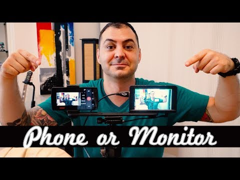 How to Connect Your Phone or Field Monitor To The Sony a6500 | IKAN DH5E Review | RehaAlev