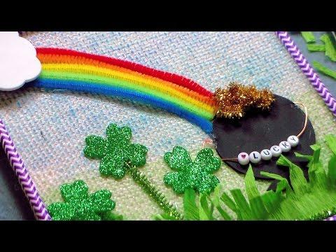 Saint Patrick's Day Wall Hanging: Kids Craft