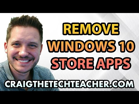 How To Uninstall Or Remove Windows 10 Store Apps