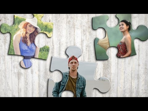 Tutorial Photoshop - Collage Style 009 (Puzzle pieces)