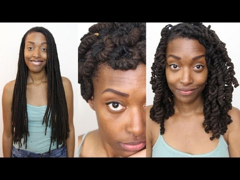 Loc Hairstyle Tutorial: Modified Pipe Cleaner Curls