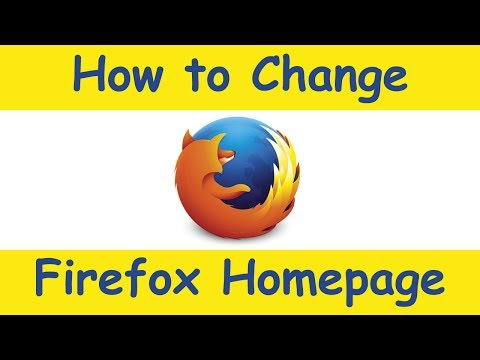 How to Change Your Homepage on Mozilla Firefox - July 2014 (Windows and Mac)