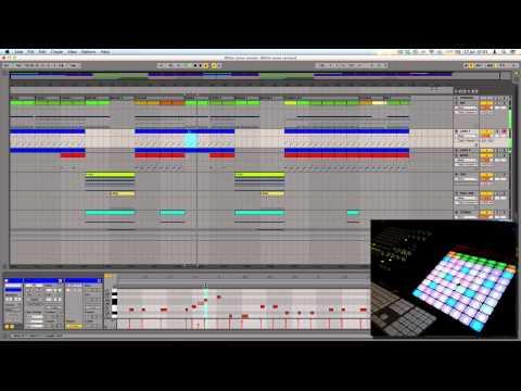 Disclosure - White Noise ft. AlunaGeorge (Ableton Push Remake)
