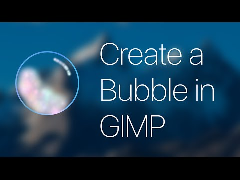 [GIMP] How to Create a Basic Cartoon Bubble