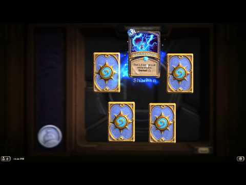 Hearthstone- best pack off cards i ever opened