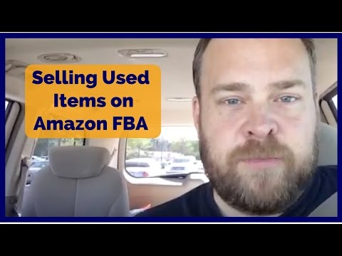 Selling Used Items on Amazon FBA