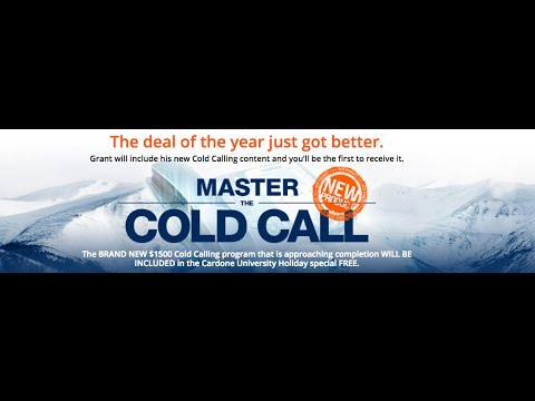 Cold Call Sales Secrets Demonstrated LIVE Grant Cardone