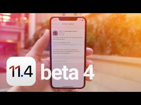 iOS 11.4 Beta 4: What's New?