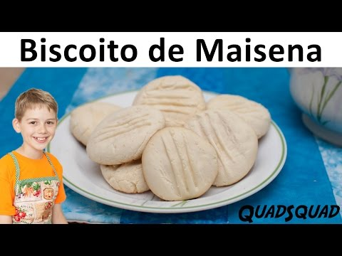 Gluten Free Cookies - Biscoito de Maisena - Kitchen Adventures with Ethan