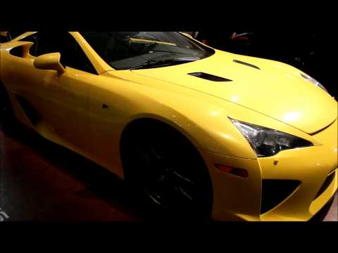 Lexus LFA at 2013 Barrett Jackson auction in Scottsdale, AZ