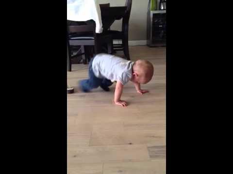 Beckham's tantrums - 15 months