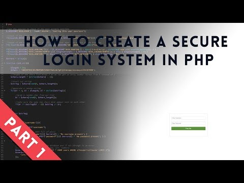 How To Create A Secure Login System In Php