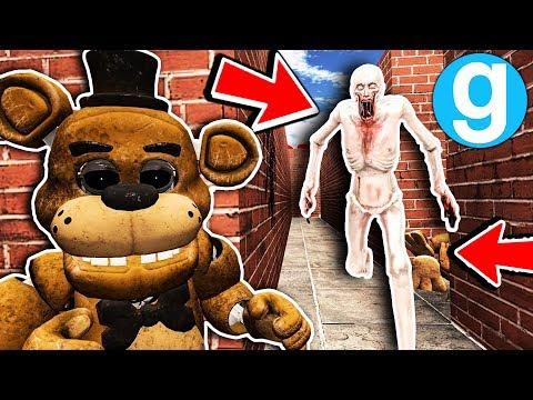 New SCP-096 Found VR Freddy in Maze! - Garry's Mod SCP