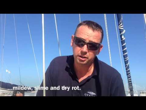 Teak Deck Maintenance using Boracol (Video 68) - Sailing Britican