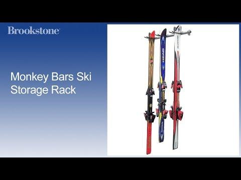 Monkey Bars Ski Storage Rack