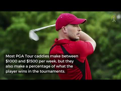 Do You Know How Much a PGA Tour Caddy Earns?
