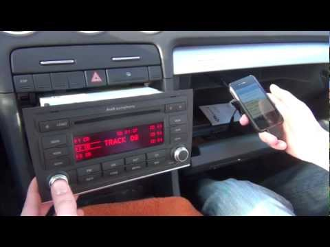 audi symphony 2 ii bluetooth adapter video download. Black Bedroom Furniture Sets. Home Design Ideas