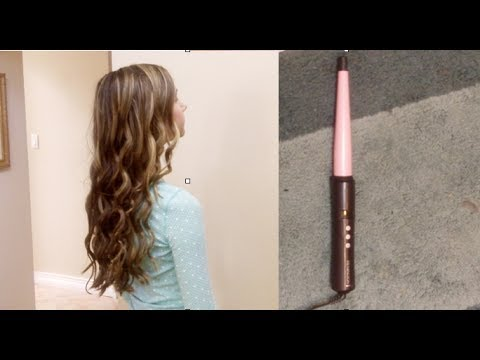 Remington Curling Wand Review and Tutorial