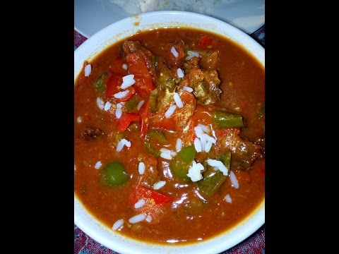Easy and quick stuffed pepper soup recipe