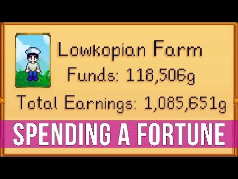Stardew Valley: Spending A Fortune! (Gameplay)