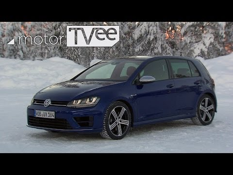 VW Golf R: Dashing through the snow with 4wd | motorTVee