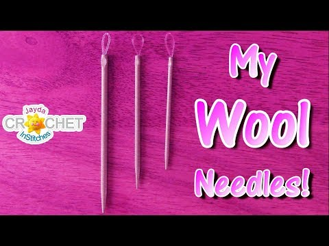 My Wool Needles & Where To Find Them!