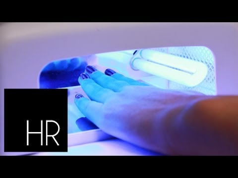 How To Do Shellac Nails At Home: Mall Hauls S02E5/8