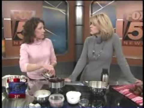 Jules Shepard Gluten Free Brownie and Cake Cooking Demo