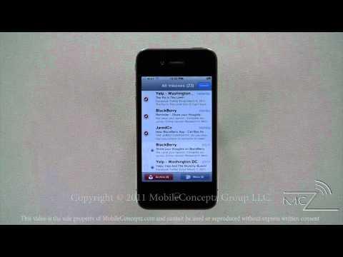 iPhone 4 Tutorial Part 6