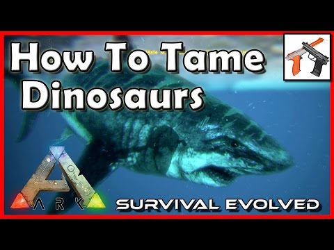 Ark How To Tame A Dinosaur!  Best Ways to Tame in Ark: Taming Tutorial / Guide