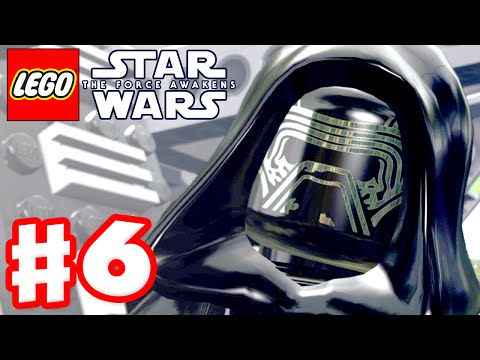 LEGO Star Wars The Force Awakens - Gameplay Part 6 - Chapter 6: Battle of Takodana