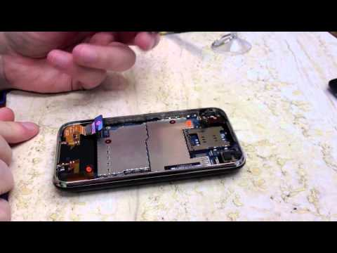 How to DIY replace a dock assembly in an iPhone 3G & iPhone 3GS