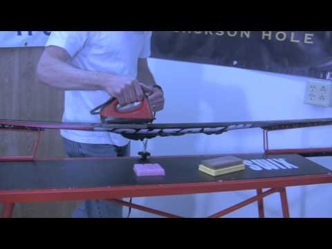 Glide Wax Preparation of Skate and Classic Skis
