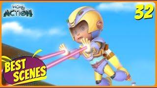 BEST SCENES of VIR THE ROBOT BOY | Animated Series For Kids | #32 | WowKidz Action